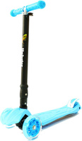 Купить Самокат трехколесный Hubster Maxi Plus Flash , цвет: синий, Самокаты