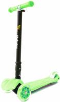Купить Самокат Hubster Maxi Plus Flash , цвет: зеленый, Самокаты