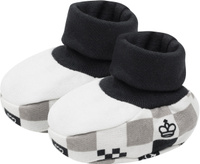 Купить Пинетки Lucky Child, цвет: молочный, темно-серый, бежевый. 29-29. Размер 0/12мес, Одежда для новорожденных