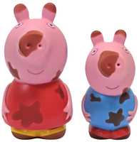 Купить Peppa Pig Набор игрушек для ванной Грязнуля или Чистюля?