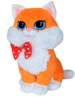 Купить СмолТойс Мягкая игрушка Кошка Люси цвет оранжевый 42 см