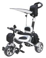 Купить Pitstop Велосипед детский трехколесный цвет черный белый
