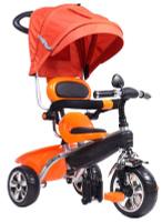 Купить Pitstop Велосипед детский трехколесный цвет оранжевый MT-BCL0815011