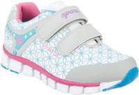 Купить Кроссовки для девочки Kapika, цвет: серый, белый, голубой. 73284с-2. Размер 33, Обувь для девочек