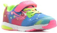 Купить Кроссовки для девочки Kapika, цвет: розовый, салатовый, голубой. 73280-2. Размер 31, Обувь для девочек