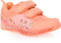 Купить Кроссовки для девочки Зебра, цвет: оранжевый. 11604-18. Размер 28, Обувь для девочек