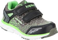 Купить Кроссовки для мальчика Kapika, цвет: серый, салатовый, черный. 71160с-1. Размер 23, Обувь для мальчиков