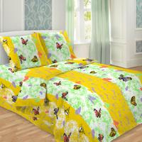 Купить Комплект белья Letto Традиция , 1, 5-спальный, наволочки 70x70, цвет: желтый. В214-3, Letto Home Textile