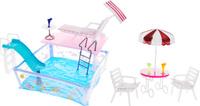 Купить Gloria Мебель для кукол Отдых у бассейна, Gloria Toys