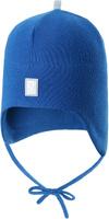 Купить Шапка детская Reima Aqueous, цвет: синий. 5183956530. Размер 46, Одежда для девочек
