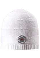 Купить Шапка детская Reima Solmu, цвет: белый. 5285250100. Размер 50, Одежда для девочек
