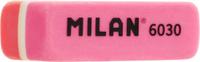Купить Milan Ластик 6030 скошенный цвет коралловый розовый, Чертежные принадлежности