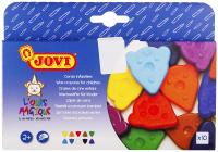 Купить Jovi Мелки восковые фигурные 10 цветов, Мелки и пастель