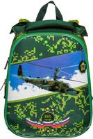 Купить Hatber Ранец школьный Ergonomic Вертолет ВКС