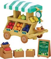 Купить Sylvanian Families Набор фигурок Тележка с фруктами