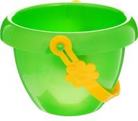 Купить Нордпласт Ведро Солнышко цвет салатовый, Игрушки для песочницы