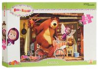 Купить Step Puzzle Пазл для малышей Маша и Медведь 90013, Степ Пазл ЗАО (Россия)