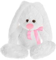 Купить Princess Love Мягкая игрушка Заяц подарочный цвет белый 60 см 1077061, Мягкие игрушки