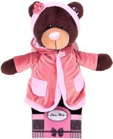 Купить Orange Toys Мягкая игрушка Milk в пальто 35 см 2008781, Сима-ленд, Мягкие игрушки