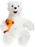 Купить Радомир Мягкая игрушка Медведь Снежок 55 см 2008853, Сима-ленд, Мягкие игрушки