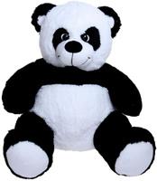 Купить Три мишки Мягкая игрушка Мишка Кузя-Панда цвет черный белый 100 см 2070134, Мягкие игрушки