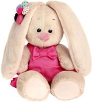 Купить Зайка Ми Мягкая игрушка Зайка Ми в сарафанчике и ромашкой на ушке цвет розовый 15 см 2140266, Мягкие игрушки