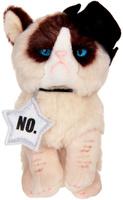 Купить Gund Мягкая игрушка Кошка Grumpy Cowboy 12, 5 см 2245503, Сима-ленд, Мягкие игрушки