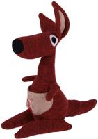 Купить Gund Мягкая игрушка Кенгуру Kichi 28 см 2245518, Мягкие игрушки