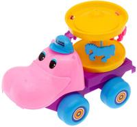 Купить Пластмастер Игрушка-каталка Карусель, Первые игрушки