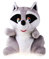 Купить Флиппер Тойз Мягкая игрушка Енот 60 см 632425, Сима-ленд, Мягкие игрушки