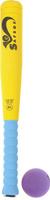 Купить Safsof Игровой набор Бейсбольная бита и мяч цвет желтый голубой фиолетовый