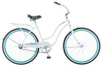 Купить Велосипед городской Schwinn Baywood , женский, рама 16 , колеса 26 , 1 скорость, цвет: белый