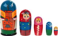 Купить Sima-land Матрешка-сказка Гуси-Лебеди, RNToys, Кукольный театр