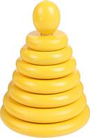 Купить Sima-land Пирамидка Желтая, RNToys, Развивающие игрушки