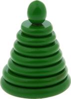 Купить Sima-land Пирамидка Зеленая, RNToys, Развивающие игрушки