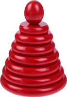 Купить Sima-land Пирамидка Красная, RNToys, Развивающие игрушки