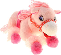 Купить Sima-land Музыкальная игрушка Лошадь цвет розовый 326356, Интерактивные игрушки