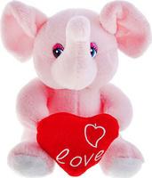 Купить Sima-land Мягкая игрушка Зверюшки с сердцем 16 см 330503, Мягкие игрушки