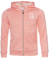 Купить Толстовка для девочки Sela, цвет: ярко-розовый. Stc-613/077A-7122. Размер 152, 12 лет, Одежда для девочек