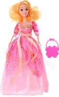 Купить Veld-Co Кукла Benigh Girl цвет платья розовый, Куклы и аксессуары