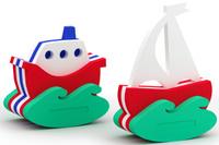 Купить El'BascoToys Игрушка-конструктор для купания Кораблик и Парусник