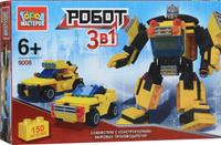 Купить Город мастеров Конструктор Робот машина 3 в 1