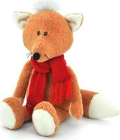 Купить Orange Toys Мягкая игрушка Лисенок Рыжик в шарфике 27 см, Мягкие игрушки