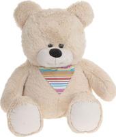 Купить Три мишки Мягкая игрушка Мишка Добрыня цвет бежевый 70 см, Мягкие игрушки