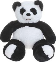 Купить Три мишки Мягкая игрушка Мишка Патрик-Панда цвет черный белый 60 см, Мягкие игрушки