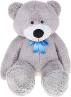 Купить Три мишки Мягкая игрушка Мишка Федор цвет серый 70 см, Мягкие игрушки