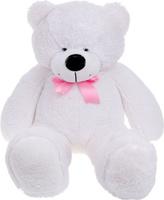 Купить Три мишки Мягкая игрушка Мишка Федор цвет белый 60 см, Мягкие игрушки