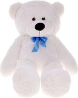 Купить Три мишки Мягкая игрушка Мишка Федор цвет белый 70 см, Мягкие игрушки