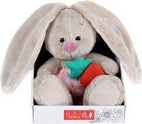 Купить Зайка Ми Мягкая игрушка Зайка Ми в панталончиках и с морковкой 15 см, Мягкие игрушки