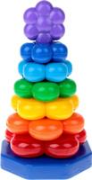 Купить Пирамидка Флора (Н-230 мм), Строим вместе счастливое детство (СВСД), Развивающие игрушки